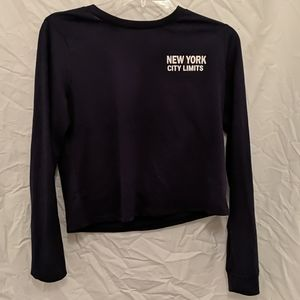 Navy Blue New York Shirt